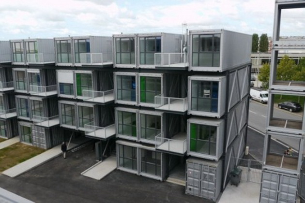 Student Boxx Shipping Container Accommodation